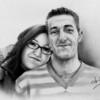Alessandro Sammaritano | Daniele e Carmela | grafite su carta