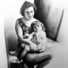 Alessandro Sammaritano | Nonna e nipote | grafite su carta