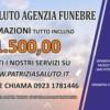 Alessandro Sammaritano   Patrizia Saluto onoranze funebri   Manifesto 6x3