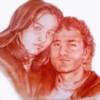 Alessandro Sammaritano | Luisa e Antonino | sanguigna su carta